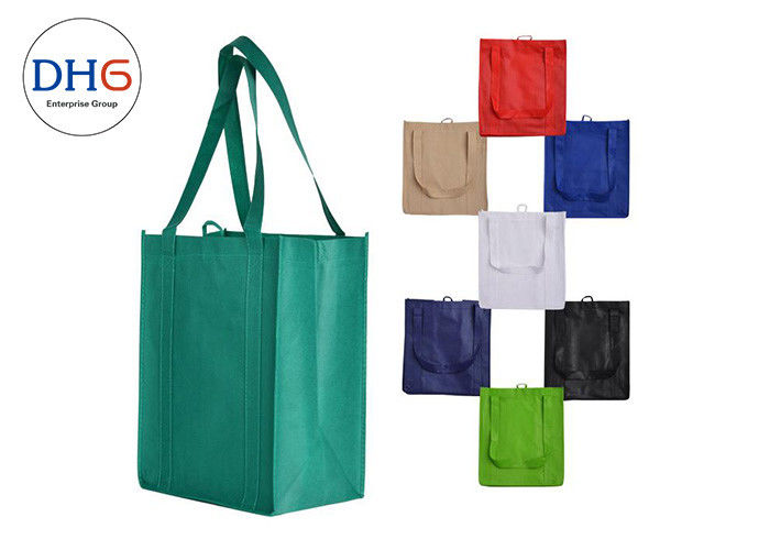 Durable Non Woven Eco Bag , Monogrammed Tote Bags 5*8 Inches Imprint Area